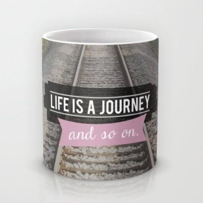 Astrode And So On Ceramic Mug