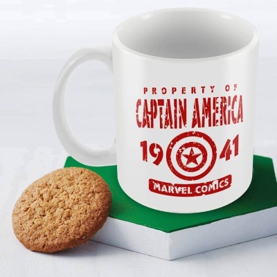 Marvel Captain America 1941 Officially Licensed Ceramic Mug