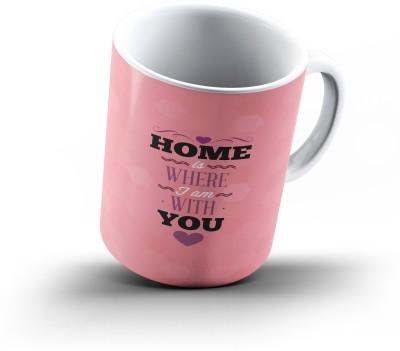 Ucard Valentines Day Love678 Bone China, Ceramic, Porcelain Mug