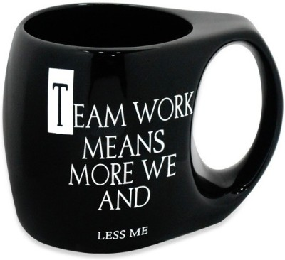 Archies  With Inspirational Quote - Teamwork Ceramic Mug