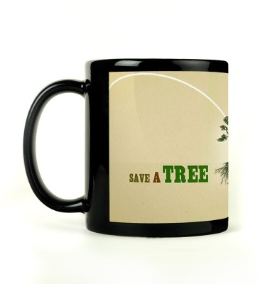 Shoperite Save Trees Ceramic Mug