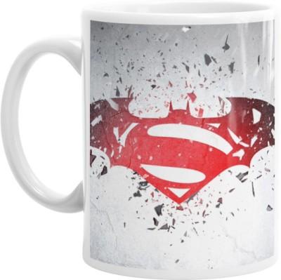 Hainaworld Superman vs Batman Coffee  Ceramic Mug