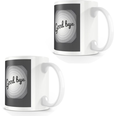 posterchacha Goodbye That,s All Folks White Tea And Coffee For Gift Use For Friend Bone China Mug