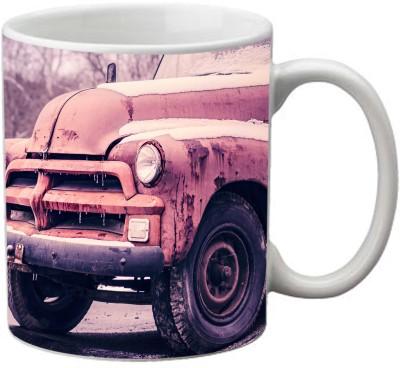 Romanshopping Truck  Bone China Mug