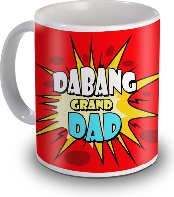 Sky Trends Dabang Grand Dad Gifts For Father,s Day Ceramic Mug
