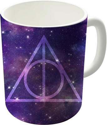 The Fappy Store Deathly Hallows In Space Ceramic Mug
