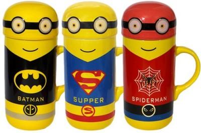 Satyam Kraft Minions Superheros CP002 Ceramic Mug