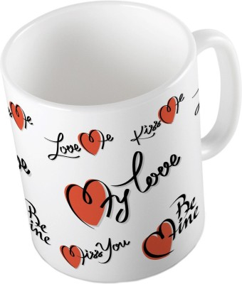 Little India Cute Designer Romantic Printed Coffee  643 Ceramic Mug