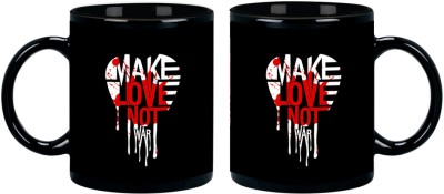 Posterboy Make Love Not War Ceramic Mug
