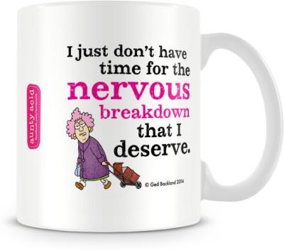 Tashanstreet Aunty Acid Nervous Breakdown Ceramic Mug