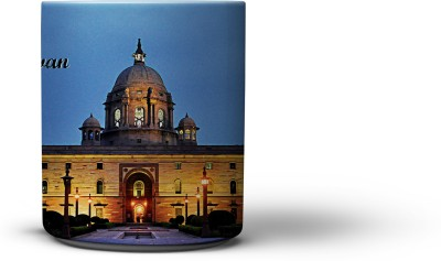 The Nodding Head Coffee Rashtrapati Bhavan Ceramic Mug