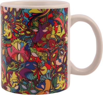 The Purple Sack Mardigras Ceramic Mug