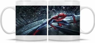 Shoperite Spider Man Ceramic Mug