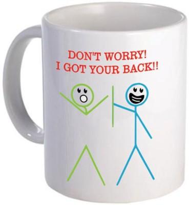 Giftsmate Cute I Got Your Back Friends Ceramic Mug
