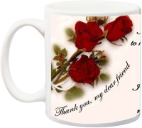 IZOR Gift for Bestie/Friends/Best Buddy/Special Friend; I am Blessed to have you printed Ceramic Mug