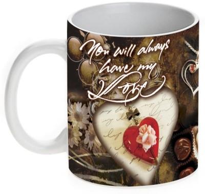 Mugwala You Will Always Have My Love Ceramic Mug