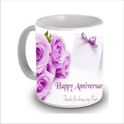 Print Hello happy anniversary 59 Ceramic Mug