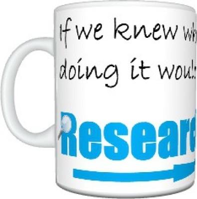 CreativesKart Research Ceramic Mug