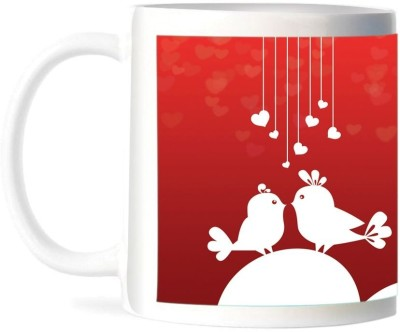 Refeel Gifts Happy Valentines Day (AS- 145)- Personalized Ceramic Mug