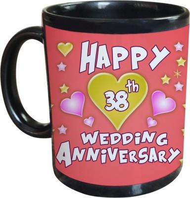 Sajawat Homes 38th Wedding Anniversary Coffee Ceramic Mug