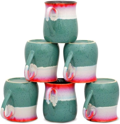 Caffeine Studio Trio shaded cups (3d, 4h) Ceramic Mug