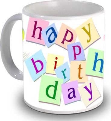 Print Helllo Happy Birthday R215 Ceramic Mug