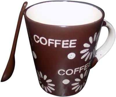 Wishy Cmugbrownflower08 Ceramic Mug