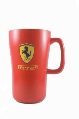 Satyam Kraft Ferrari Super Car Ceramic Mug