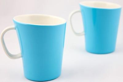 Hi Luxe Dbl Clr Melamine 42249 Dual - Blue Melamine Mug