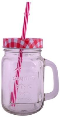 VNU Country Style Mason Jar Glass Mug
