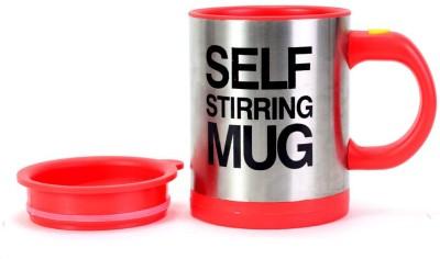 Wink Self Stirring Plastic, Stainless Steel Mug