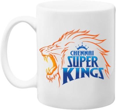 Gifts By Meeta Chennai Super Kings Ceramic Mug