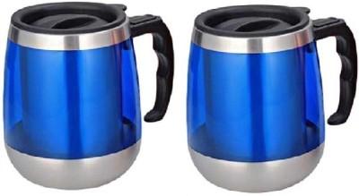 Phoenix Pack of 2 Unique Beer Stainless Steel Mug