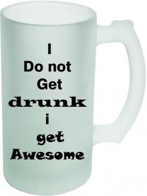 Shopmania Designer Beer-006 Glass Mug