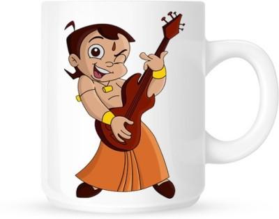 G&G Rockstar Chhota Bheem Ceramic Mug