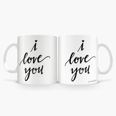 LetterNote I love You Combo Ceramic Mug