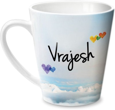 Hot Muggs Simply Love You Vrajesh Conical  Ceramic Mug