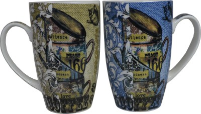 Neos Peace Love Ceramic Mug
