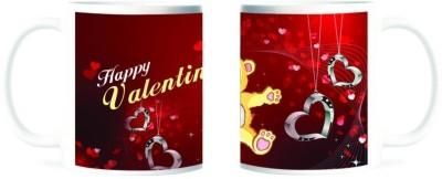 Refeel Gifts Happy Valentines Day Ceramic Mug