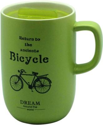 Just For Decor Colorful Vintage Ceramic Mug