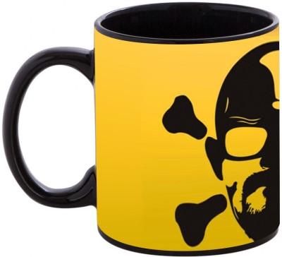 Shopmania Designer Printed BLK-20 Coffee Ceramic Mug