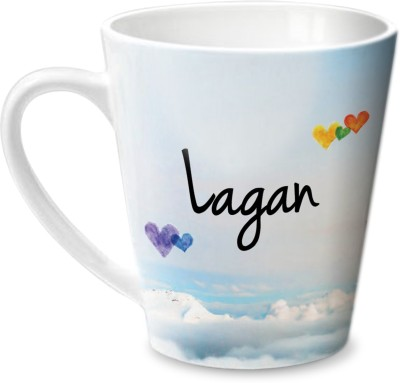 Hot Muggs Simply Love You Lagan Conical  Ceramic Mug