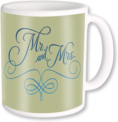 A Plus mr and mrs.jpg Ceramic Mug