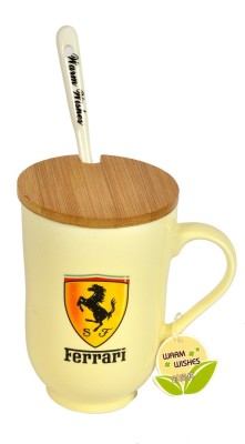 Hommate Exclusive Car Brand Ferrari Ceramic Mug