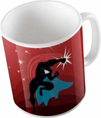 Uptown 18 Superman Fight Ceramic Mug