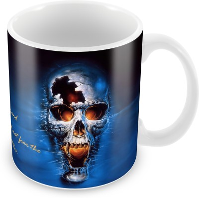 Prinzox You Need Not To Fear The Results Of Hundred Battles-Skull Ceramic Mug