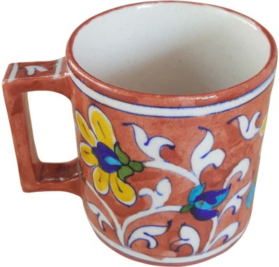 Shilpbazaar Beautiful Pottery Mug