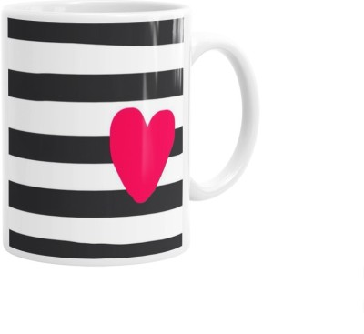 Hainaworld Heart Checks Coffee  Ceramic Mug