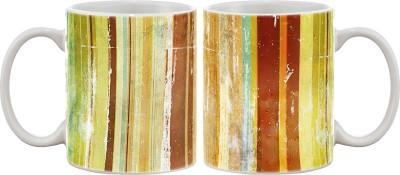 Artifa Vintage Design Porcelain, Ceramic Mug