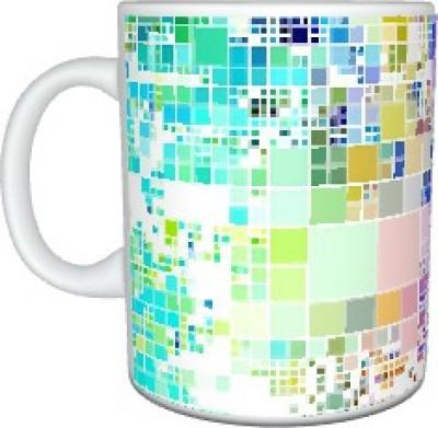 Creatives PastelMosiac Ceramic Mug